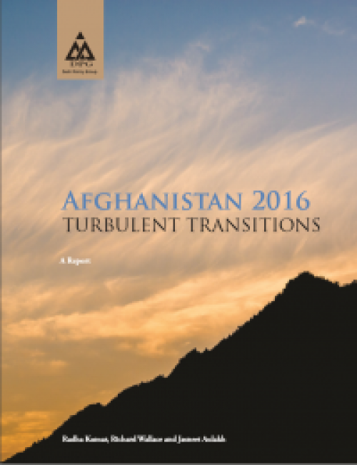 Afghanistan 2016: TURBULENT TRANSITIONS