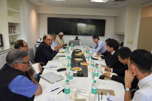 Discussion with delegation from National Institute of Defense Studies (NIDS), Japan
