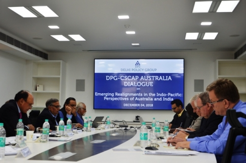 "DPG-CSCAP Australia Dialogue on ""Emerging Realignments in the Indo-Pacific: Perspectives of Australia and India"" - Pic 4"