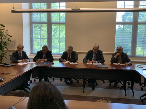 DPG Faculty Meeting with H.E. Mr. Harsh Vardhan Shringla, Ambassador of India to the U.S. - Pic 2