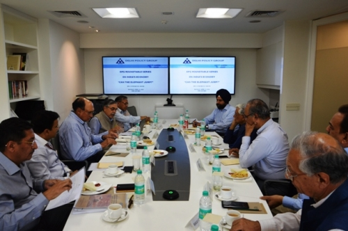 "DPG Roundtable series on India's economy ""Can the elephant jump?"" - Pic 1"