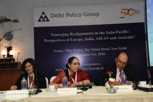 "DPG-KAS CONFERENCE ON ""EMERGING REALIGNMENTS IN THE INDO-PACIFIC: PERSPECTIVES OF EUROPE, INDIA, ASEAN AND AUSTRALIA"" - Pic 2"
