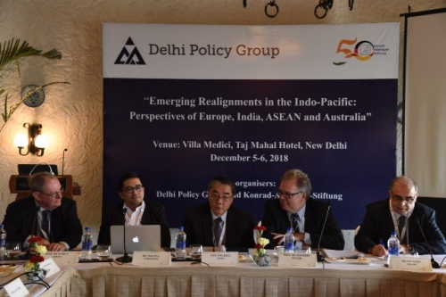"DPG-KAS CONFERENCE ON ""EMERGING REALIGNMENTS IN THE INDO-PACIFIC: PERSPECTIVES OF EUROPE, INDIA, ASEAN AND AUSTRALIA"" - Pic 3"
