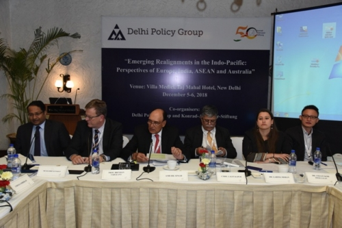 "DPG-KAS CONFERENCE ON ""EMERGING REALIGNMENTS IN THE INDO-PACIFIC: PERSPECTIVES OF EUROPE, INDIA, ASEAN AND AUSTRALIA"" - Pic 15"