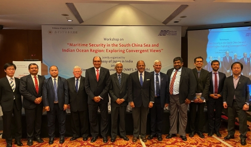Joint Workshop on Maritime Security in the South China Sea and Indian Ocean Region: Exploring Convergent Views