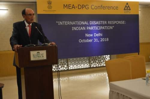"MEA-DPG CONFERENCE  ON  ""INTERNATIONAL DISASTER RESPONSE: INDIAN PARTICIPATION"" - Pic 2"