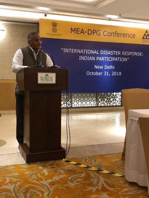 "MEA-DPG CONFERENCE  ON  ""INTERNATIONAL DISASTER RESPONSE: INDIAN PARTICIPATION"" - Pic 3"