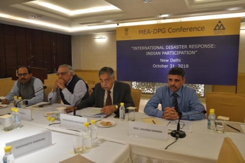 "MEA-DPG CONFERENCE  ON  ""INTERNATIONAL DISASTER RESPONSE: INDIAN PARTICIPATION"" - Pic 7"