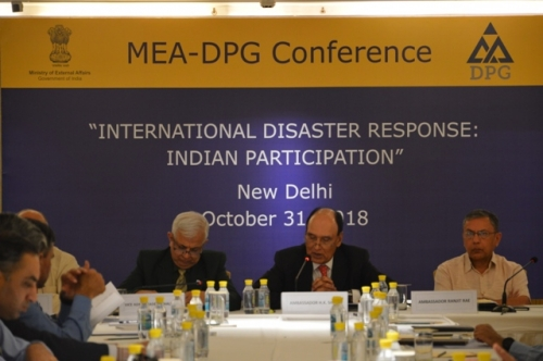 "MEA-DPG CONFERENCE  ON  ""INTERNATIONAL DISASTER RESPONSE: INDIAN PARTICIPATION"" - Pic 8"