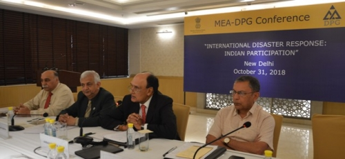 "MEA-DPG CONFERENCE  ON  ""INTERNATIONAL DISASTER RESPONSE: INDIAN PARTICIPATION"" - Pic 9"