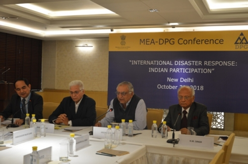 "MEA-DPG CONFERENCE  ON  ""INTERNATIONAL DISASTER RESPONSE: INDIAN PARTICIPATION"" - Pic 10"