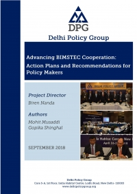 Advancing BIMSTEC Cooperation:  Action Plans and Recommendations for Policy Makers