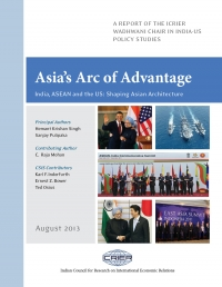 Asia's Arc of Advantage -  India, ASEAN and the US: Shaping Asian Architecture