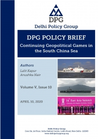Continuing Geopolitical Games in the South China Sea