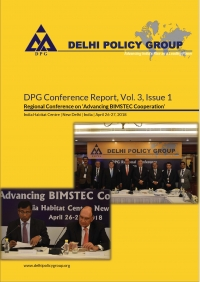 DPG Conference Reports, Vol. 3, Issue 1: Regional Conference on Advancing BIMSTEC Cooperation