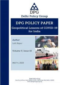 Geopolitical Lessons of COVID-19 for India