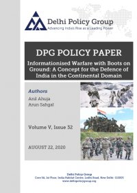 Informationised Warfare with Boots on Ground: A Concept for the Defence of India in the Continental Domain