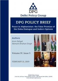 Peace in Afghanistan: the False Promise of the Doha Dialogue and India's Options