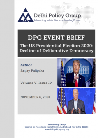 The US Presidential Election 2020: Decline of Deliberative Democracy