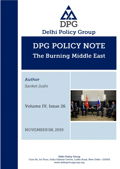 DPG Policy Note Vol. IV, Issue 26: The Burning Middle East