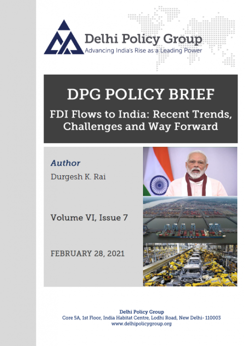 FDI Flows to India: Recent Trends, Challenges and Way Forward