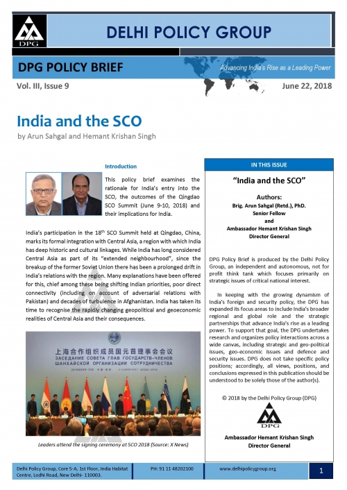 India and the SCO