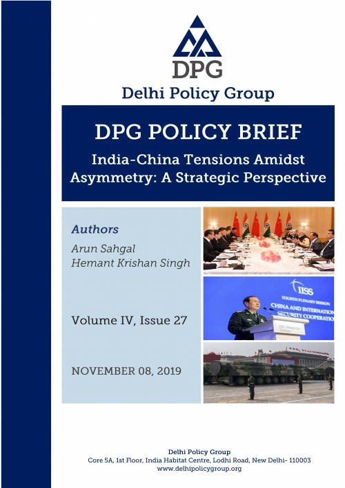 India-China Tensions Amidst Asymmetry: A Strategic Perspective