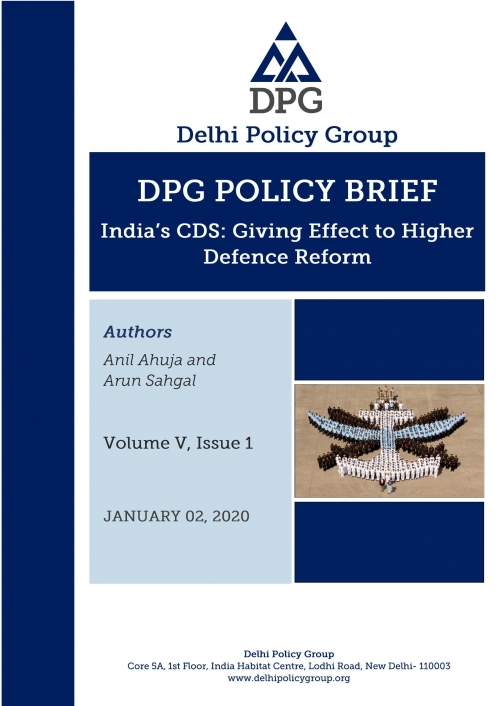 India's CDS: Giving Effect to Higher Defence Reform