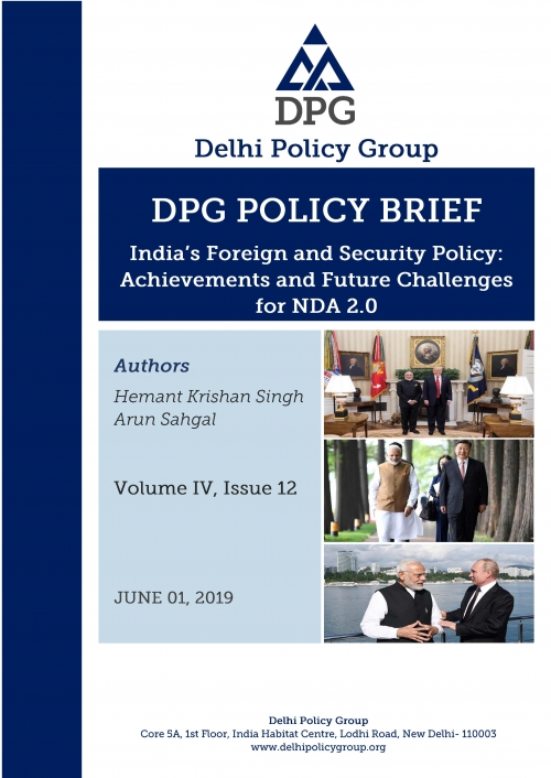 India's Foreign and Security Policy: Achievements and Future Challenges for NDA 2.0