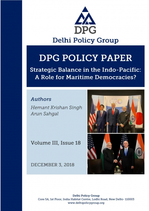 Strategic Balance in the Indo-Pacific: A Role for Maritime Democracies?